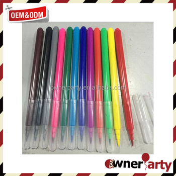 20 color set water based brush pen
