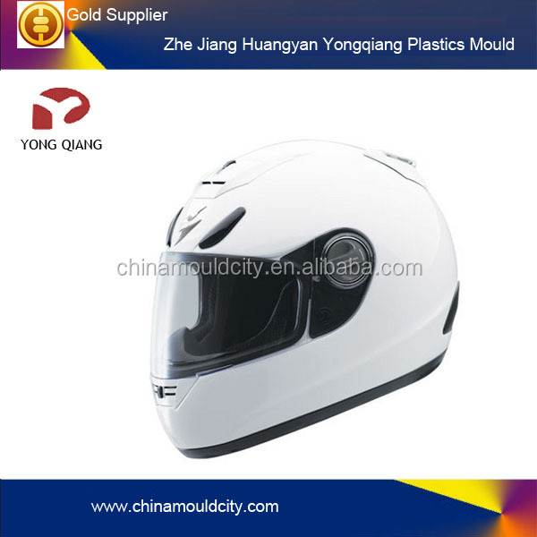 motor helmet two color injection molding manufacturer Taizhou two shot mold
