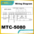 MTC-5080 electronic controls with 2sensor input, compressor, deforst and fan relay output replace carel thermostat