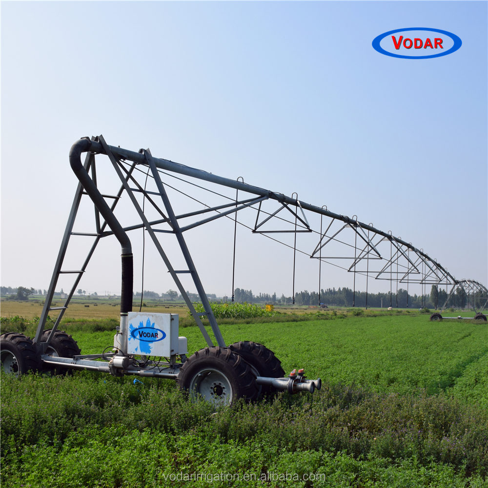 VODAR Lateral Move System Irrigation Used for Grassland