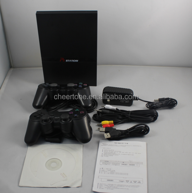 32 bit tv game support PS 2 wired and 2.4G Bluetooth wireless controller,32 bit game console