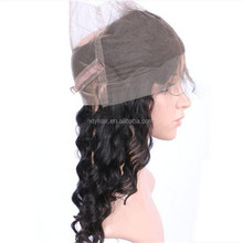 Alibaba express brazilian hairs in stock 360 lace frontal closure wig