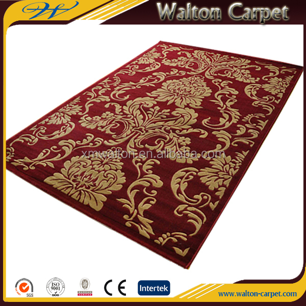 Oriental hand embroidered flooring hotel polypropylene turkish rugs
