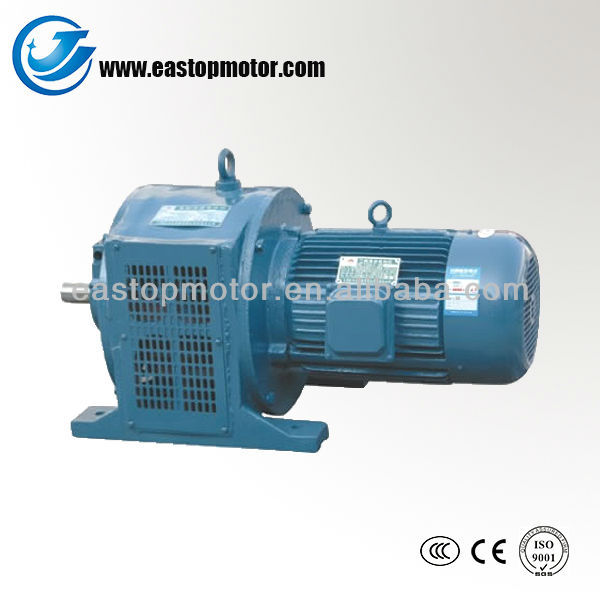 YCT three phase gear motors to specification