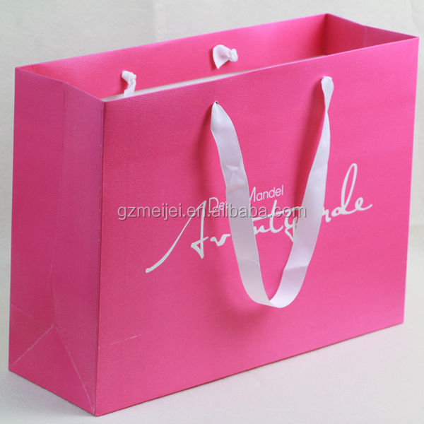 Shopping Industrial Use Hand Length Handle Paper Carry Bag