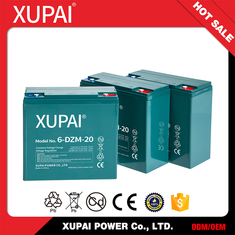 Low price Super power 12v 20ah dry charged battery