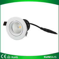 Hot sale high quality different watts adjustable angle led cob downlight led