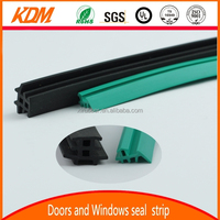 High quality approved ribbed rubber seal strip with EPDM