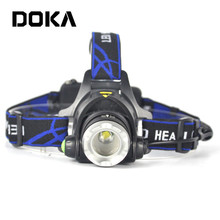 XM-L T6 LED Ultra Bright Aluminium Rechargeable Bike Light Running Led Headlamp