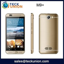 M9+ 5.0nch dual sim cdma custom android mobile phone hot sell handset