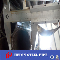 carbon 100mm external diameter steel welded pipe erw pipe