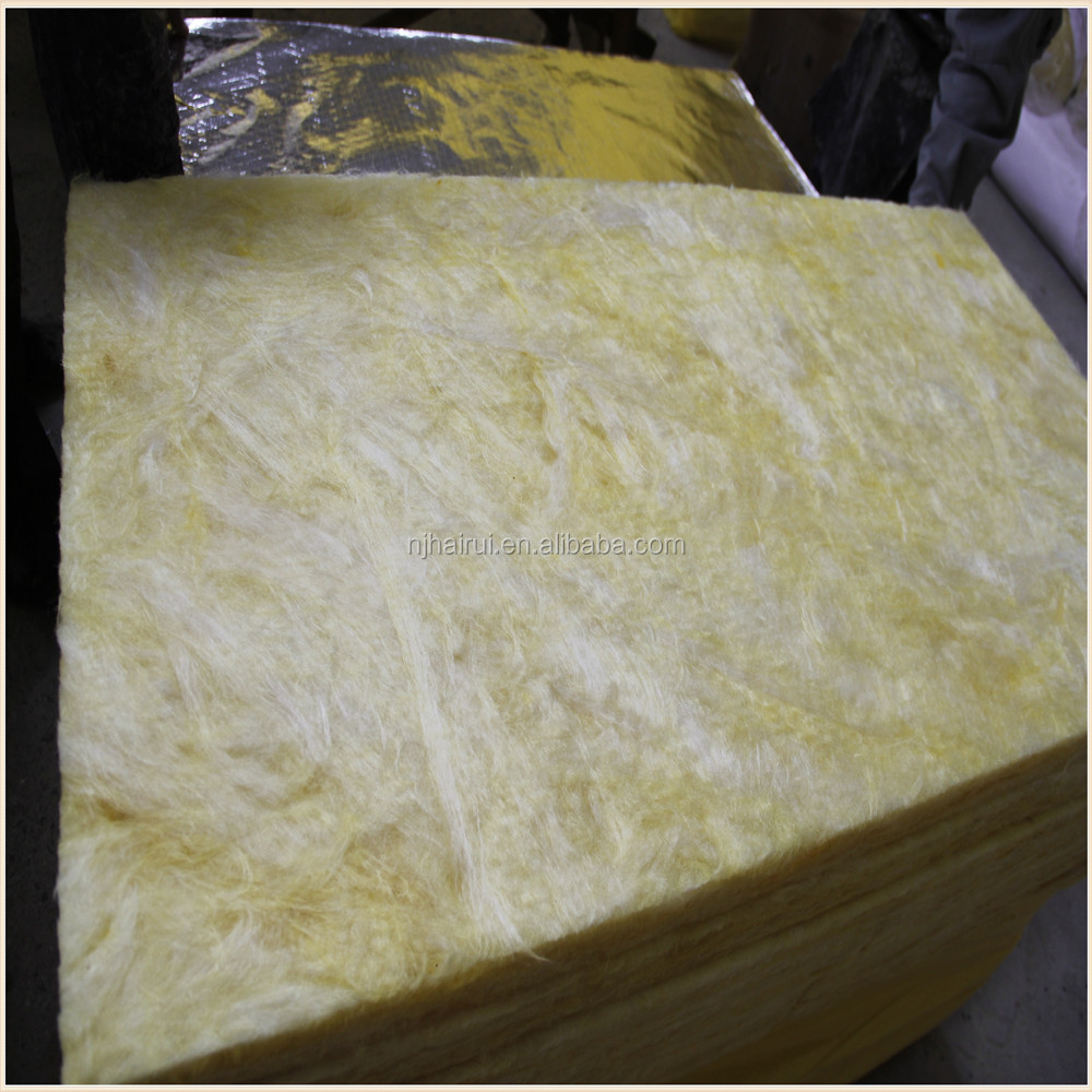 Eco-friendly Waterproof Building Materials Roof Insulation Glass Wool Board