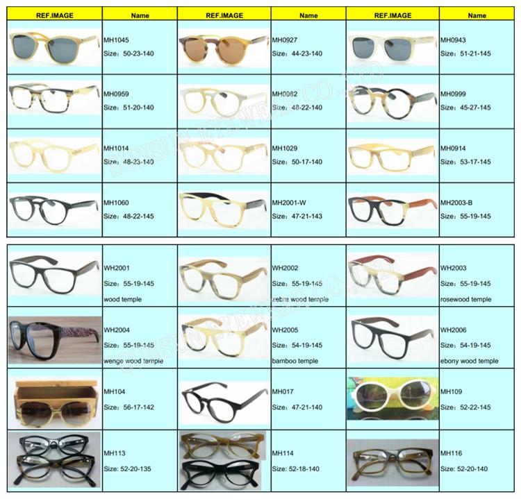 100% Natural Water Buffalo Horn Eyeglasses Frames With ...