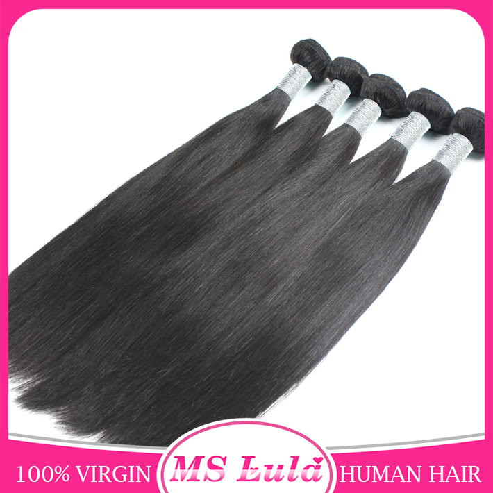 Grade 7A 100% Unprocessed Straight Virgin Human Hair Brazilian Hair With Full Cuticle Aligned At Reasonable Prices