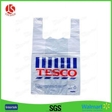 Plastic Bags White Shopping Bag Disposable Garment Bags