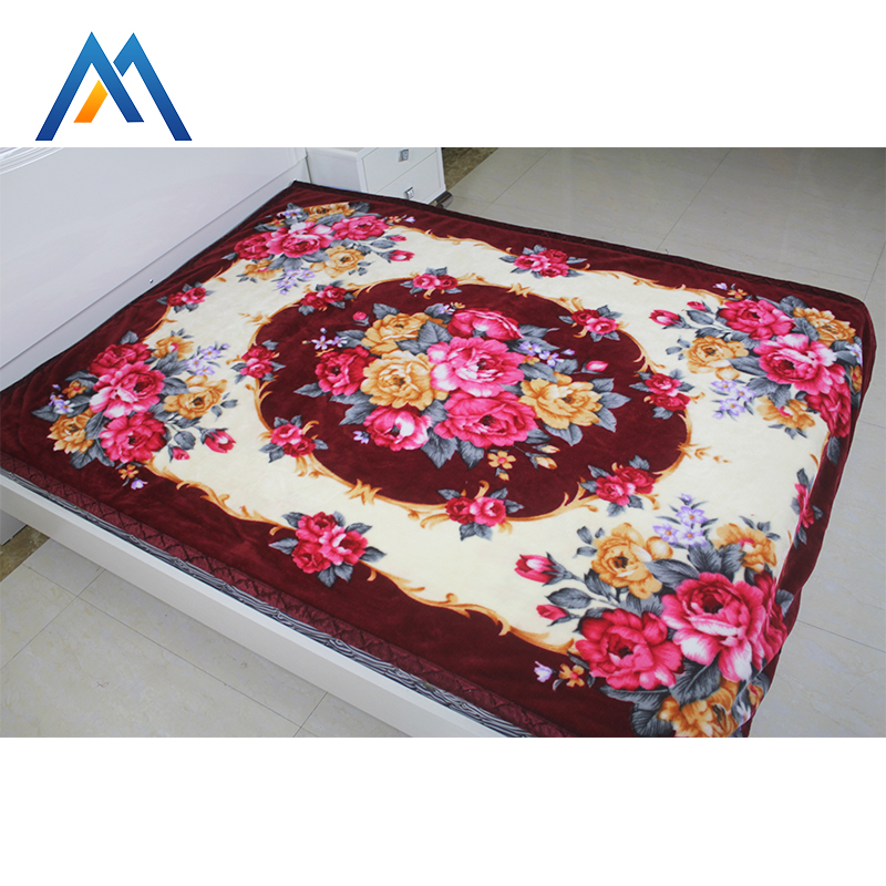Wholesale China werchandise cute egyptian cotton wool throw blanket