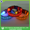 Leopard Print Flashing Led Dog Collars