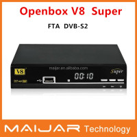 Dual Core vu duo 2 V8 super openbox v8s DVB-S2 full hd satellite tv box decoder for encrypted channels powervu