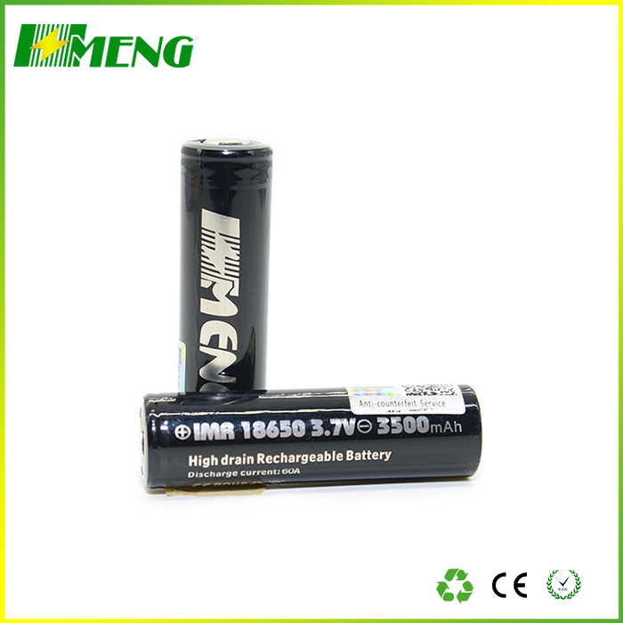 Hot selling MENG 18650 3500mAh 60A lithium battery for vaping mod