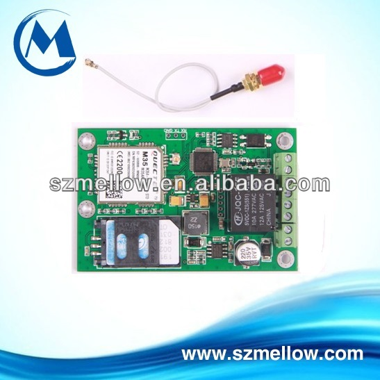 gsm alarm with sms control