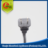 2 pins The USA STANDARD UL/CUL POWER PLUG POWER CABLE CE VDE ROHS POWER PLUG