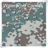 polyester cotton fabric waterproof canvas