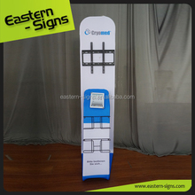 Flxible trade show monitor stands