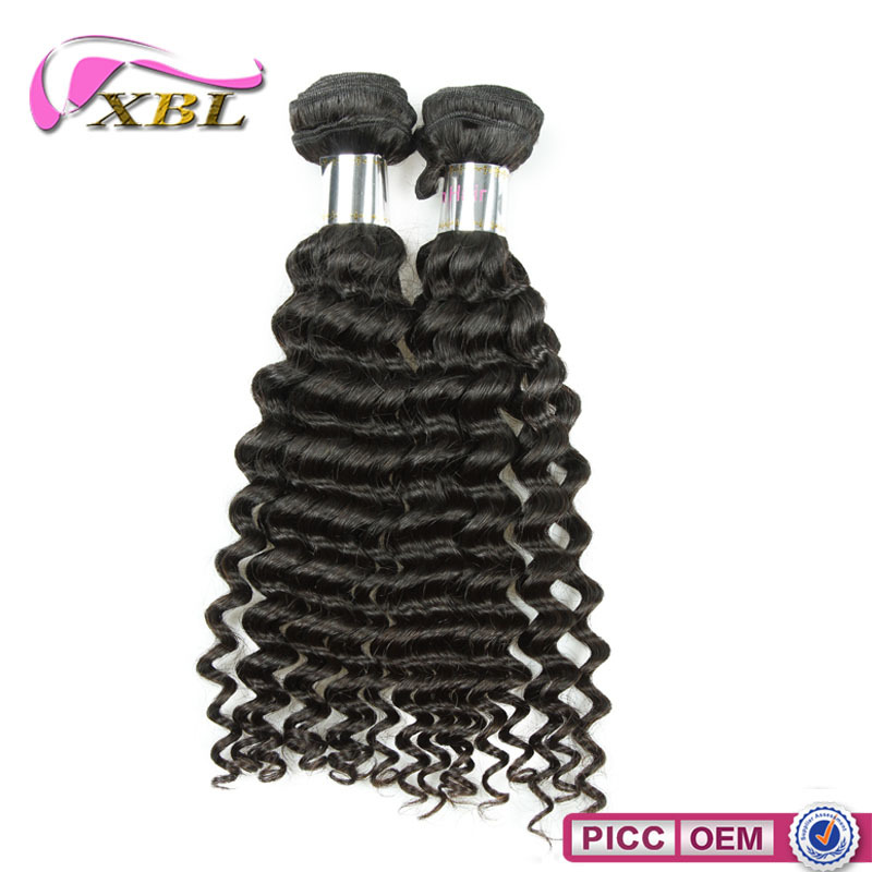 Can be dyed and colored shedding free tangle free 100% Indian human hair
