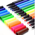 non-toxic hexagonal 12 pcs colors washable markers pen