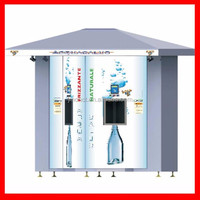 Easy operate durable self service water vending kiosk