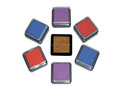 The hot selling 33mm colorful ink pad for wooden stamp