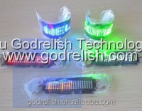 programmable led badge flexible led bottle glorify,bottle led badge