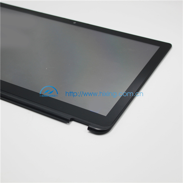 "New arrival 15.6"" LCD touch assembly with frame/bezel for Toshiba Satellite Radius P55W-B series(LP156WF5.SPA2)"