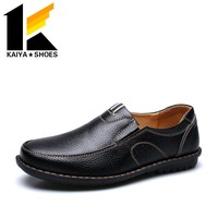 china brand fashion business style customize genuine leather men shoes