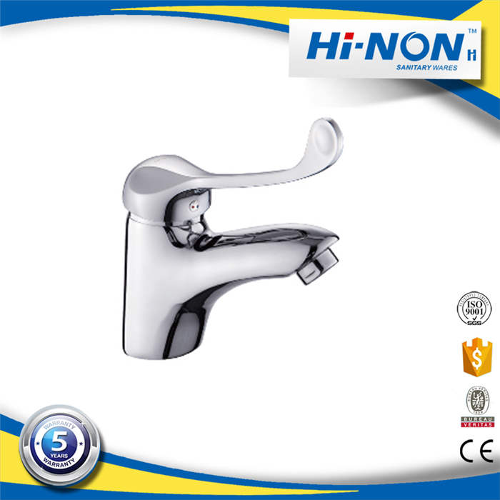 Low moq polished bathroom kitchen sink basin faucet
