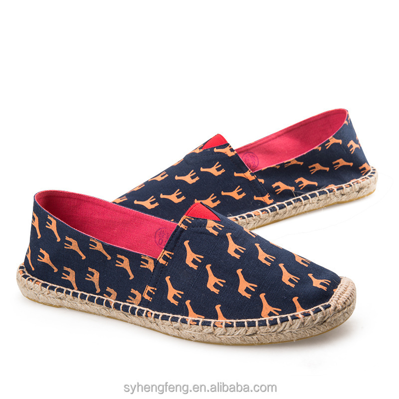 Low price trendy women fashion espadrilles
