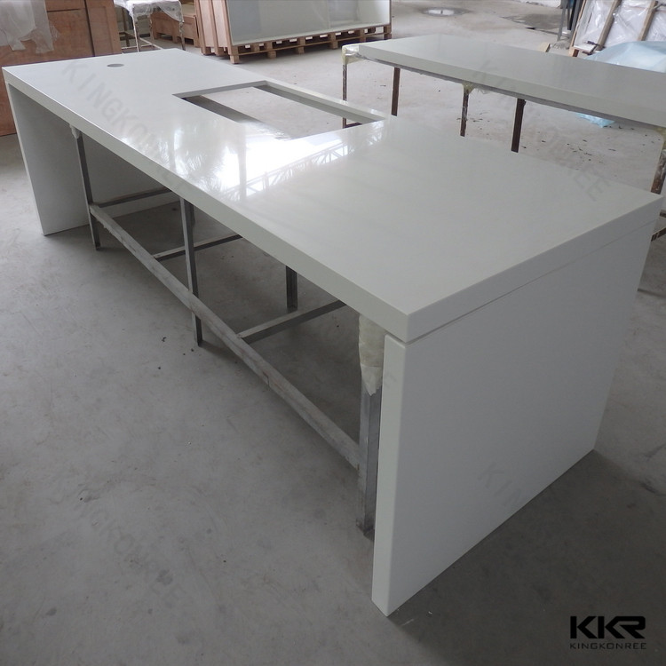 Artificial stone kitchen island designs countertops with custom sizes