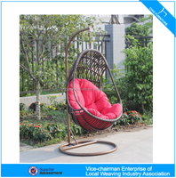 U outdoor furniture hanging swing chair (CF1435H)