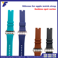 OEM brand high quality thin silicone watch straps/bands sports watchband
