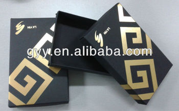 Men's underwear packaging paper box