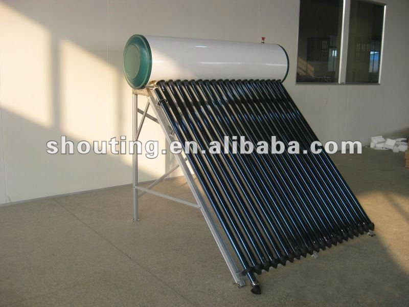 pressurized solar water thermal