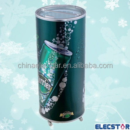 round barrel cooler/50L Commercial Electric Beverage Party Cooler/outdoor portable can fridge