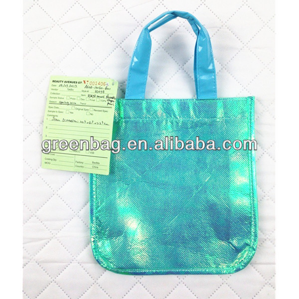 Easy-carry laser non woven bag on fair trade