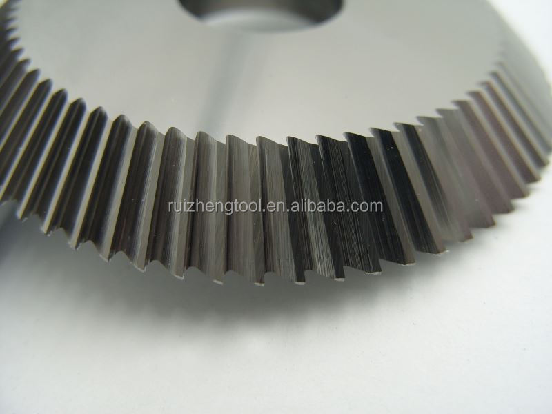 Top quality carbide double angle milling cutter 60 for wholesales