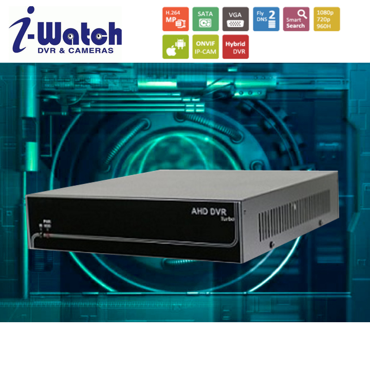 IW-5004/5008-N H.264 HP FULL HD 1080P 720P NVR