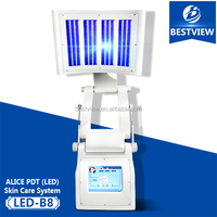 2016 economic TEC cooling Repair aging skin machine bio light skin therapy machine led light therapy