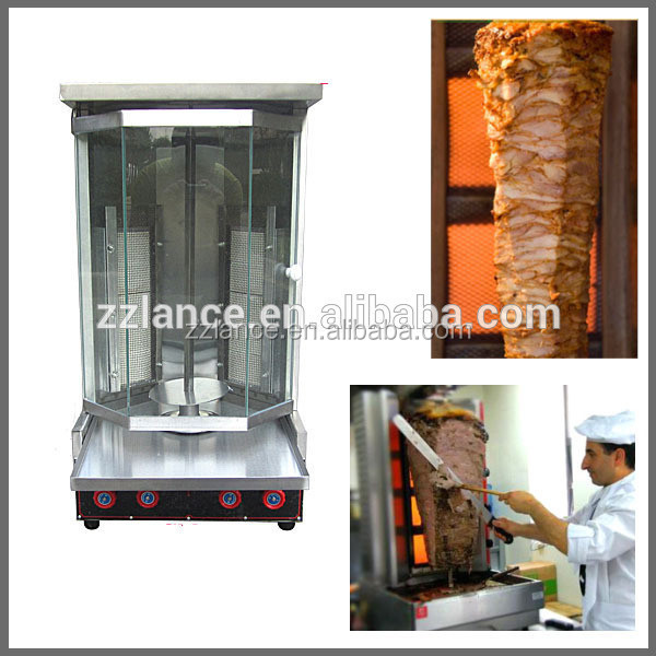 electric/gas chicken shawarma machine for sale