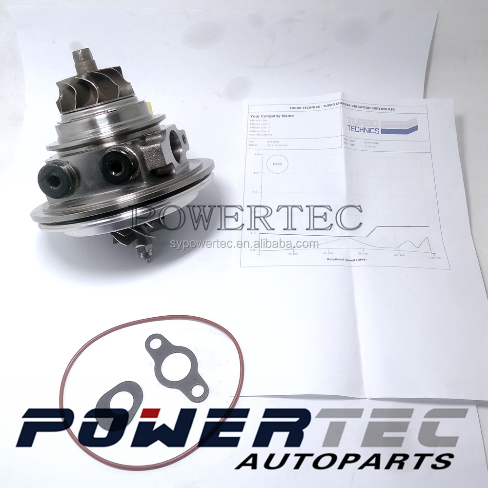 Turbocharger <strong>K03</strong> chra 53039880120 / 53039880121 / 53039880104 turbo core 0375R9 / 0375T5 / 0375N7 for Citroen C4 THP <strong>1</strong>.6 L