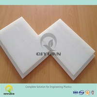 100% virgin UHMWPE material plastic sheet, chemical resistant cutting board