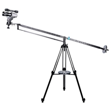professional 3Meter aluminum jib pan tilt head foldable video camera crane for sale